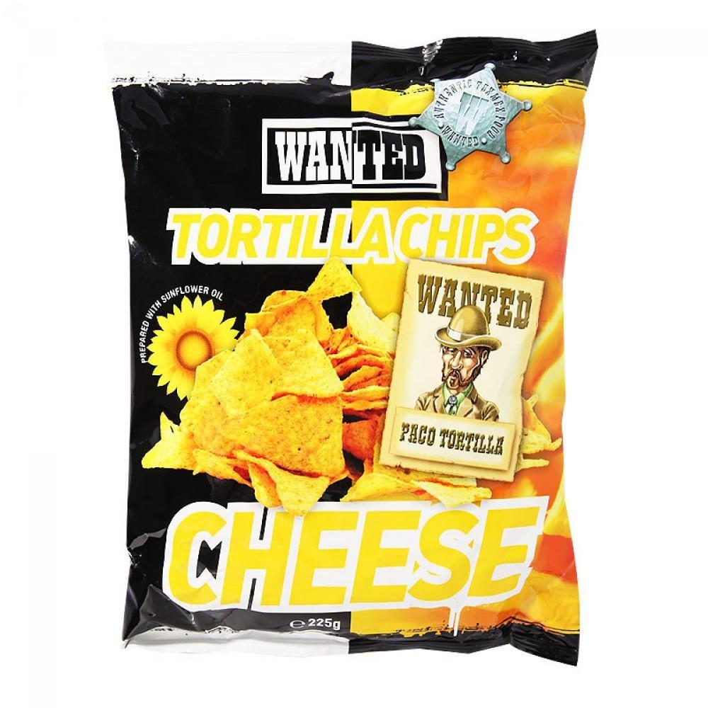 Чипсы Тортилья начос со вкусом сыра/Tortilla chips WANTED CHEESE