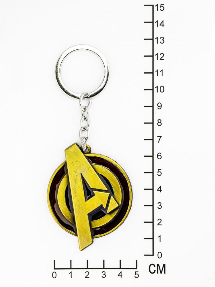 """Брелок на ключи """"Буква А лого"""""""