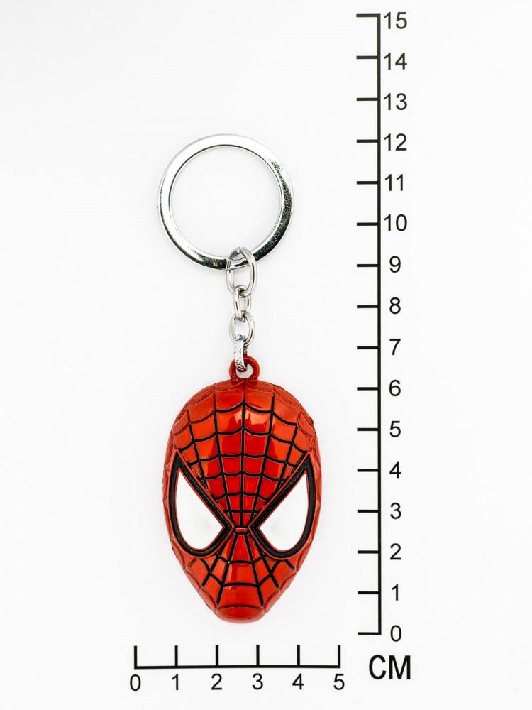 "Брелок на ключи ""Человек паутина маска"""