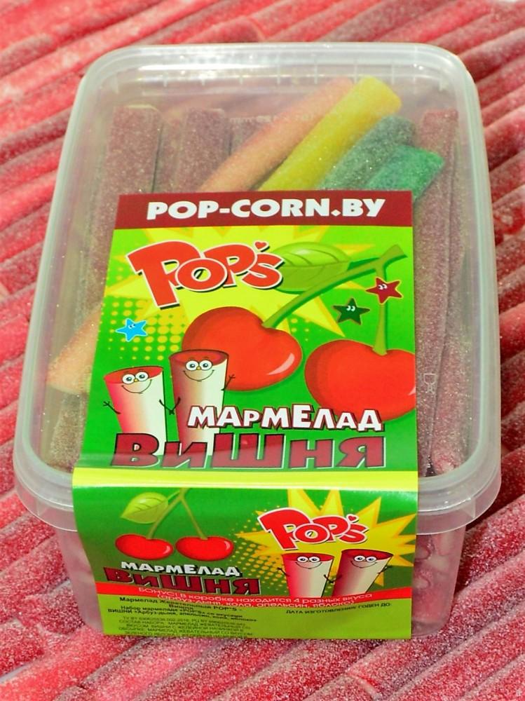 """Жевательный мармелад """"POPS"""" со вкусом """"Вишня"""""""