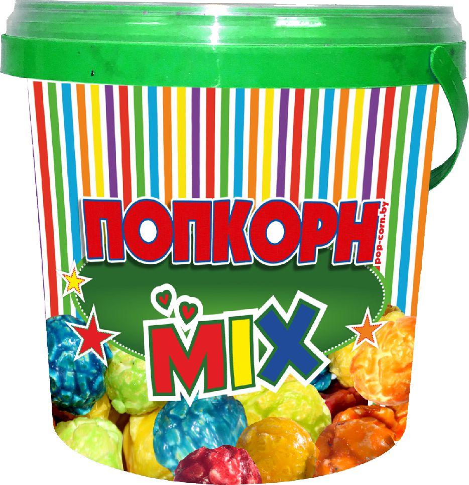 """Завтраки сухие кукуруза воздушная глазированная """"Попкорн POP`S"""" с фруктовыми вкусами, 125 г"""