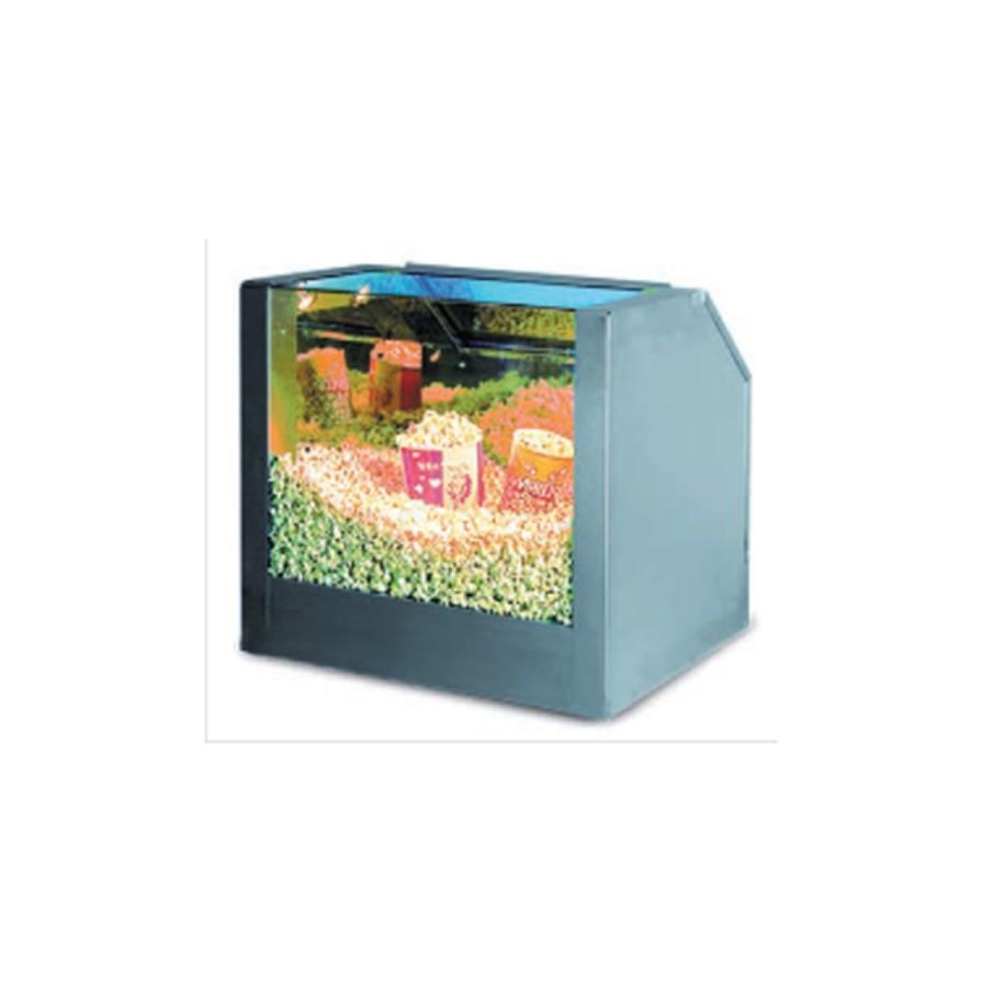 Тепловая витрина (1 секция)  для хранения и продажи готового попкорна