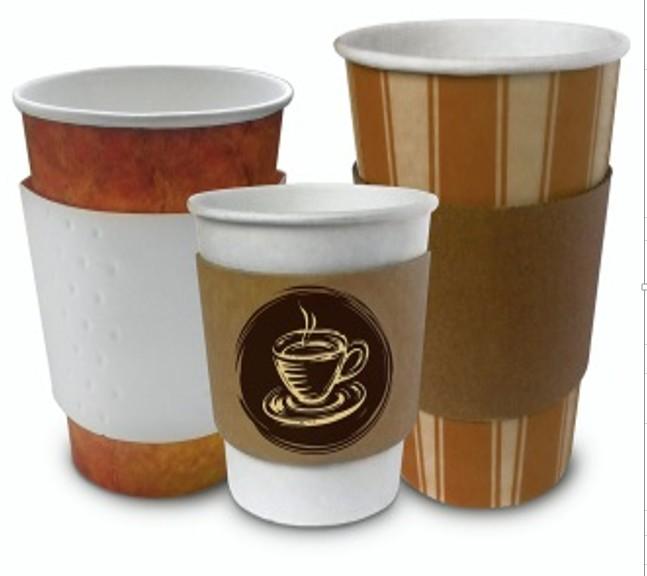 Манжеты для стаканчиков Coffee-Hand