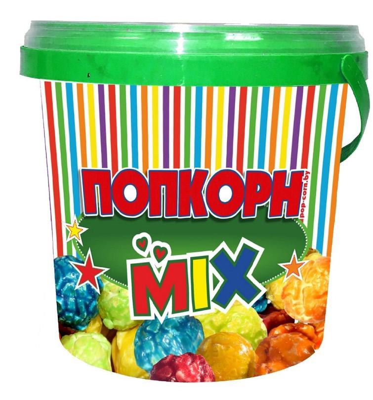 Контейнер для карамелизированного попкорна Фруктовый микс, 1 л.