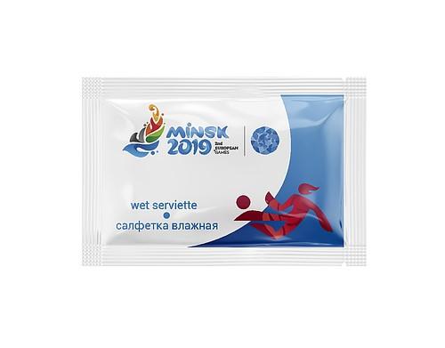 Влажные салфетки II Европейские игры