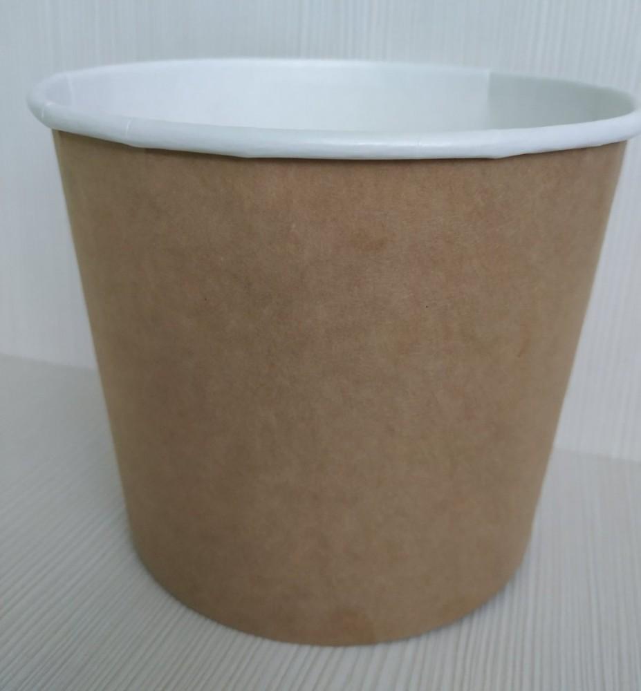 Ведро (упаковка) под снеки 1,8 л КРАФТ